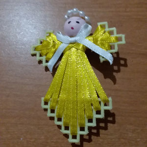 Yellow Angel Pin